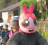PowerPuff Girls motorcycle helmet