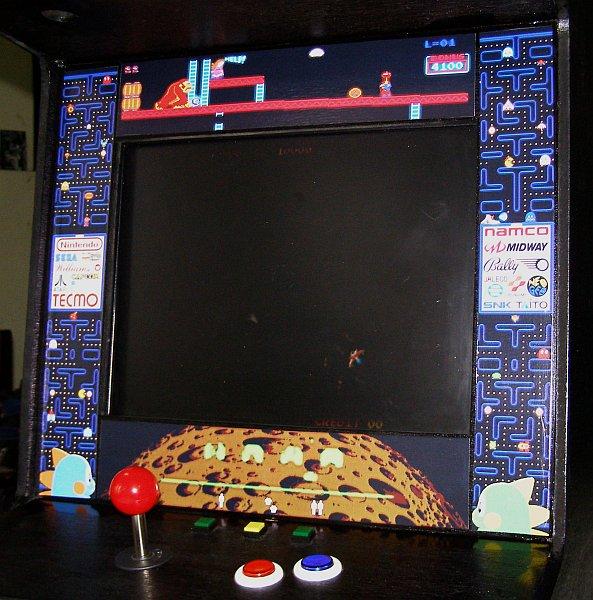 Countertop Mame Arcade Cabinet