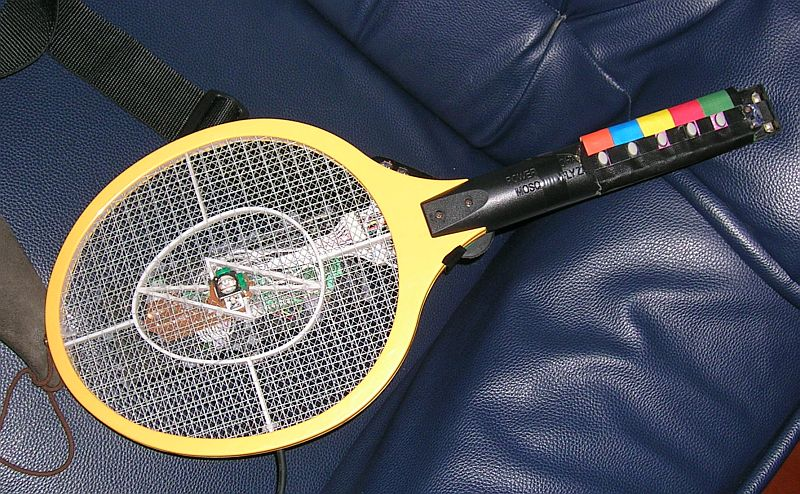 Bug-zapper Guitar Hero Controller - Thomas Tilley