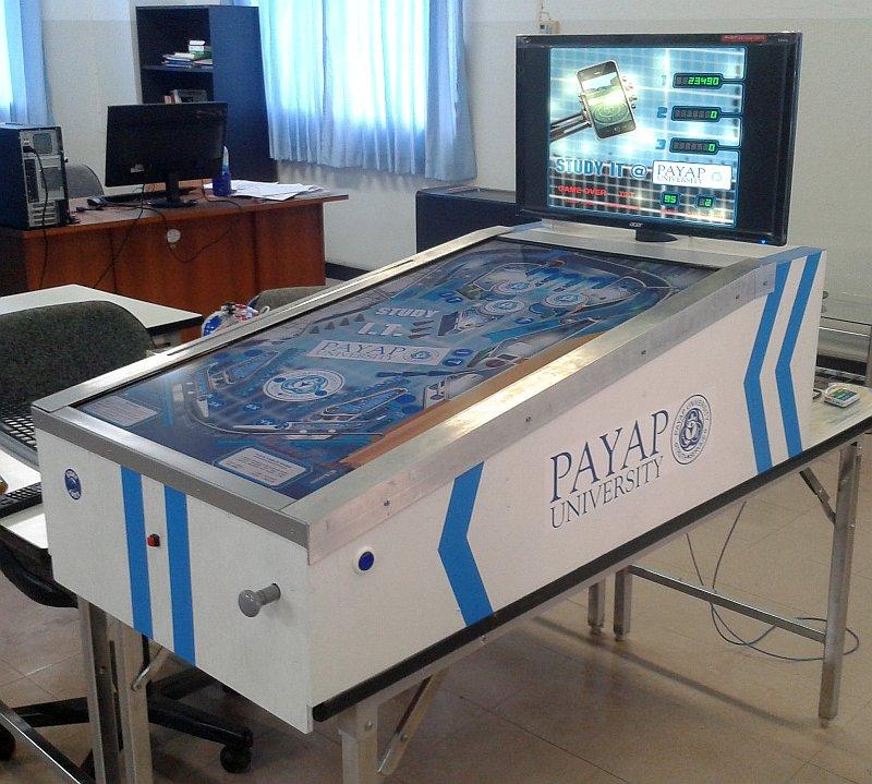 Payap Pinball Machine Thomas Tilley